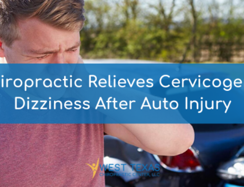 Chiropractic Relieves Cervicogenic Dizziness After Auto Injury